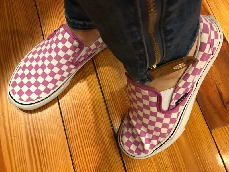 e4c3f61a2ad7 I had started writing this post in December and was going to write a funny  post about my plight and quest for the pink and white checkerboard Vans I  have ...