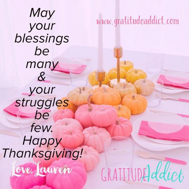 Happy Thanksgiving!! Keep counting those blessings and cultivating your gratitudehellip