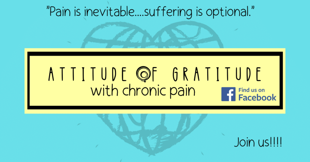 A strong community on Facebook for those who want to live better lives despite living with chronic pain, illness, disability.
